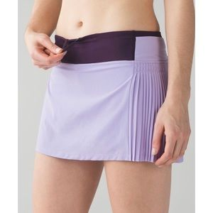 Lululemon Athletica Time to Shine Skirt Lilac